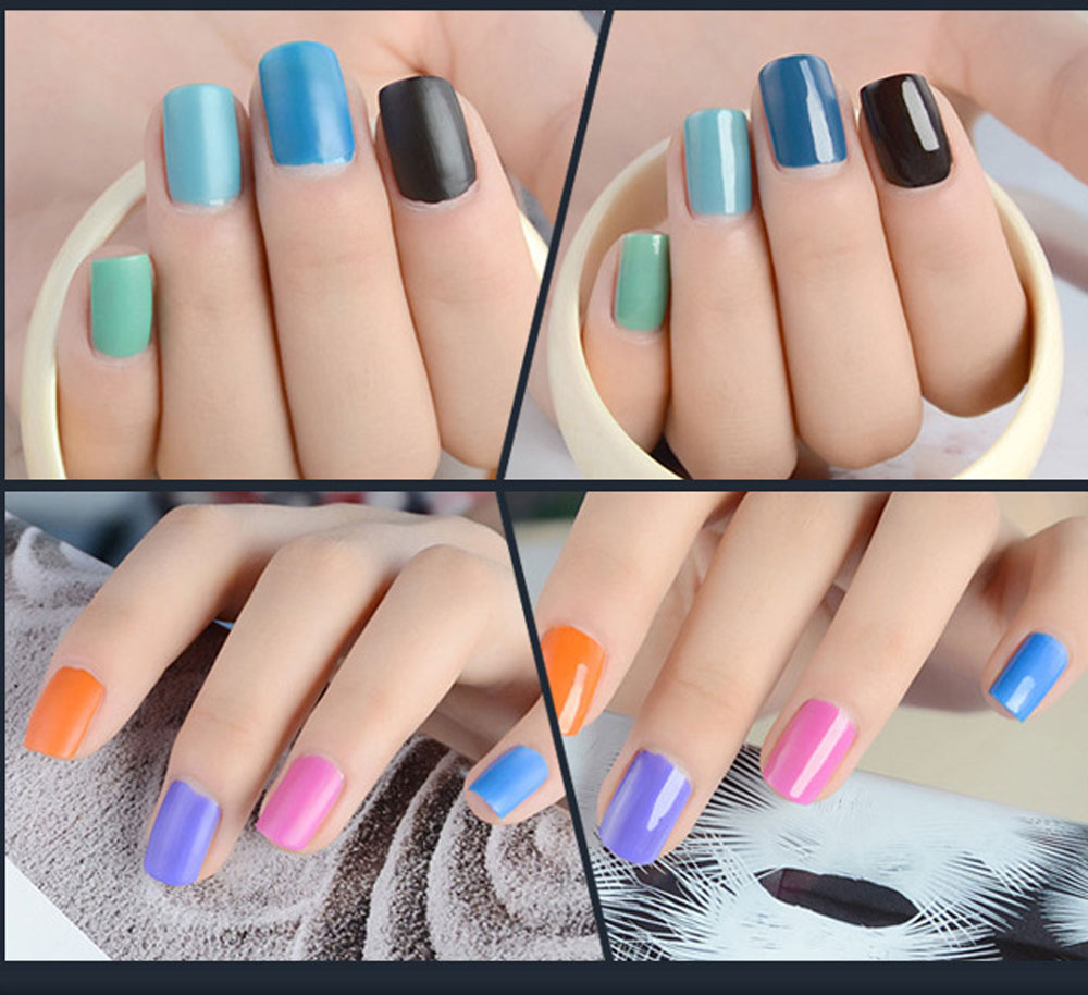 15ml Magic Transfiguration Super Matte Frosted Surface Nail Polish Top Coat