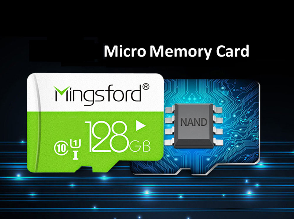 Mingsford Micro SD / TF Memory Card UHS - I Class 10
