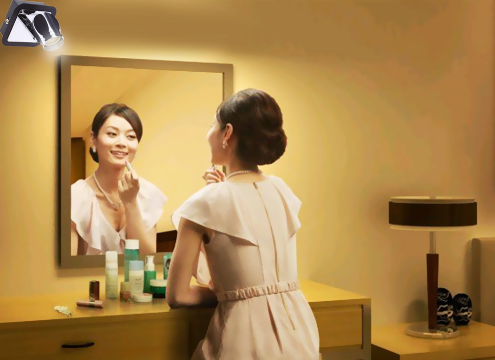 Lightme 3W Bathroom Make-up LED Mirror Front Lamp