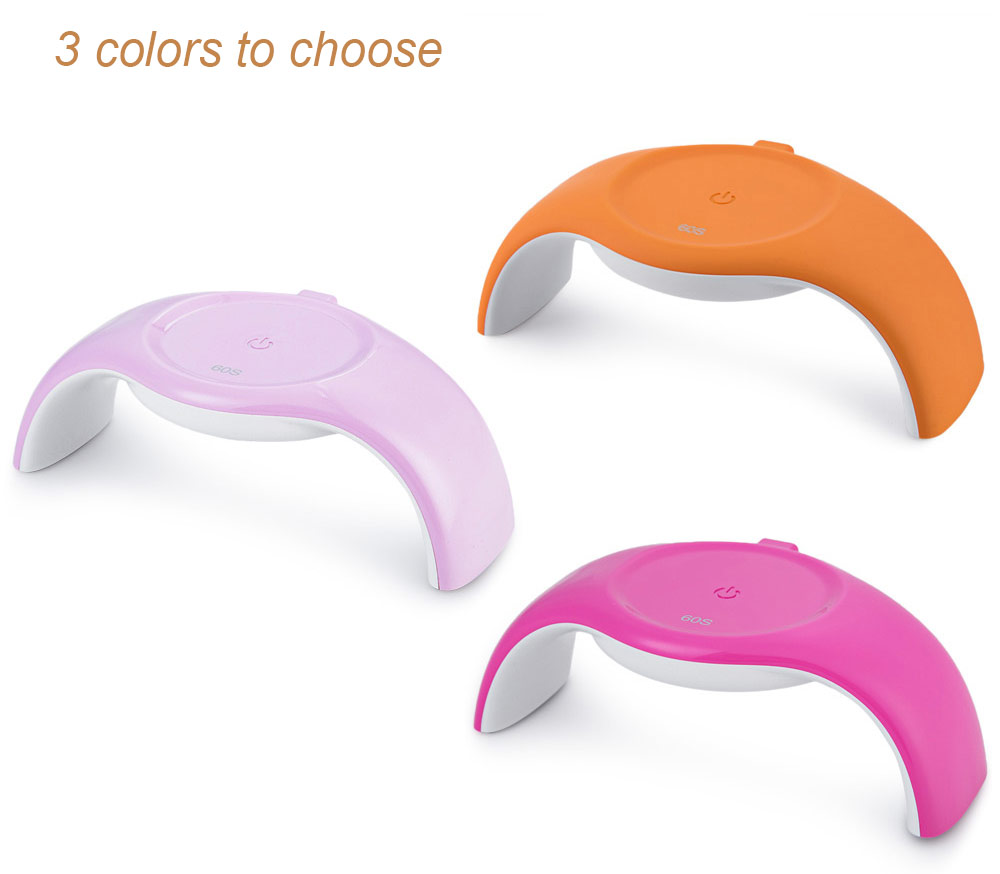 Fashion 4W 100 - 240V LED Light Lamp Mini Polish Nail Dryer