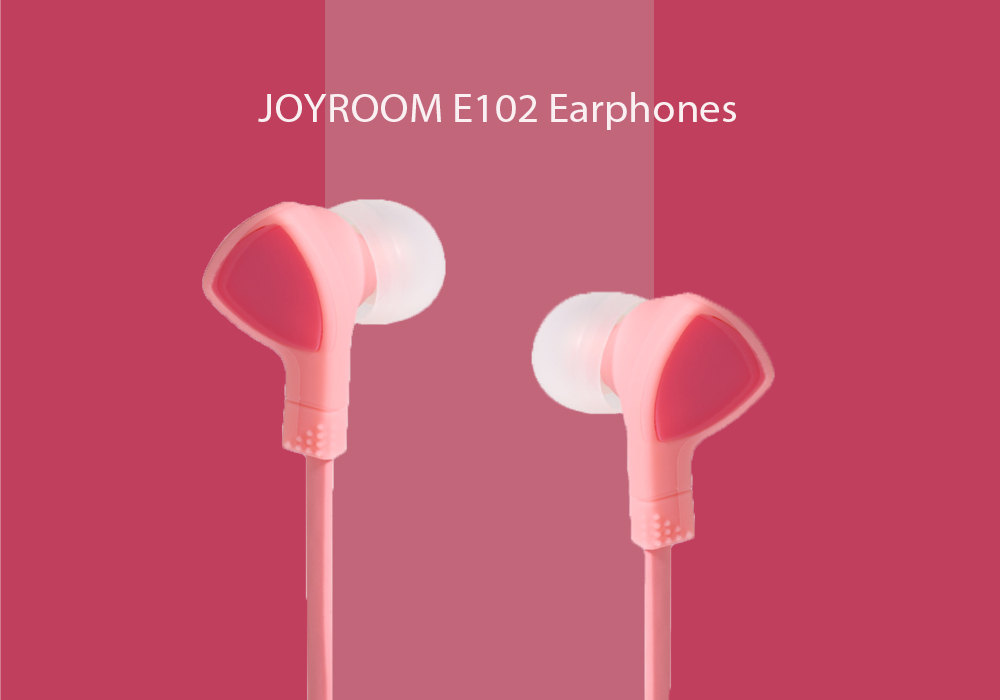JOYROOM E102 3.5mm Plug Stereo Earphone In-ear Headphone