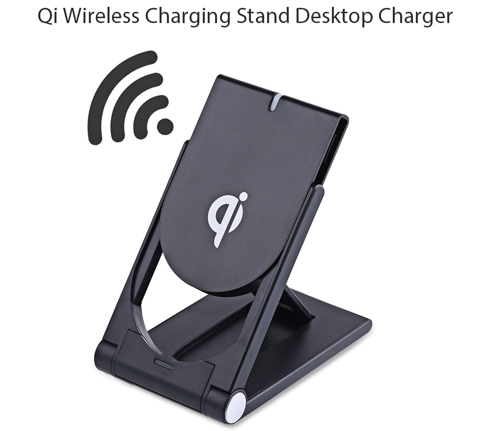 Qi Wireless Charger Stand Dock for Qi-enabled Devices