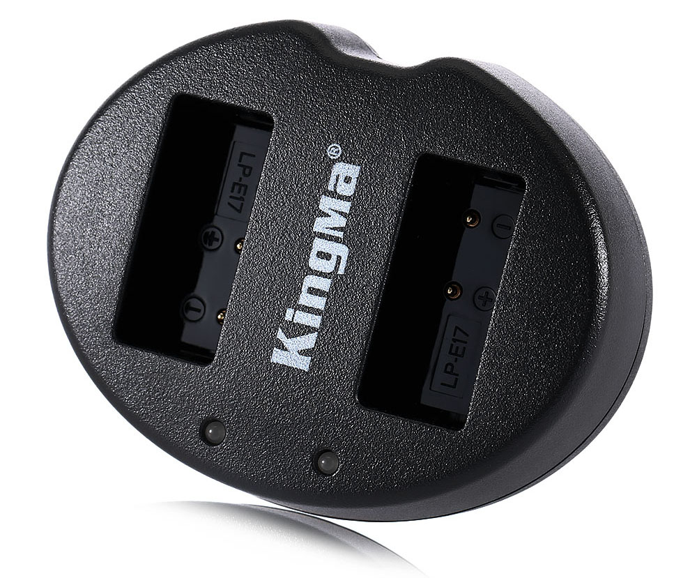 Kingma BM015 LPE17 Double USB Camera Battery Charger for Canon
