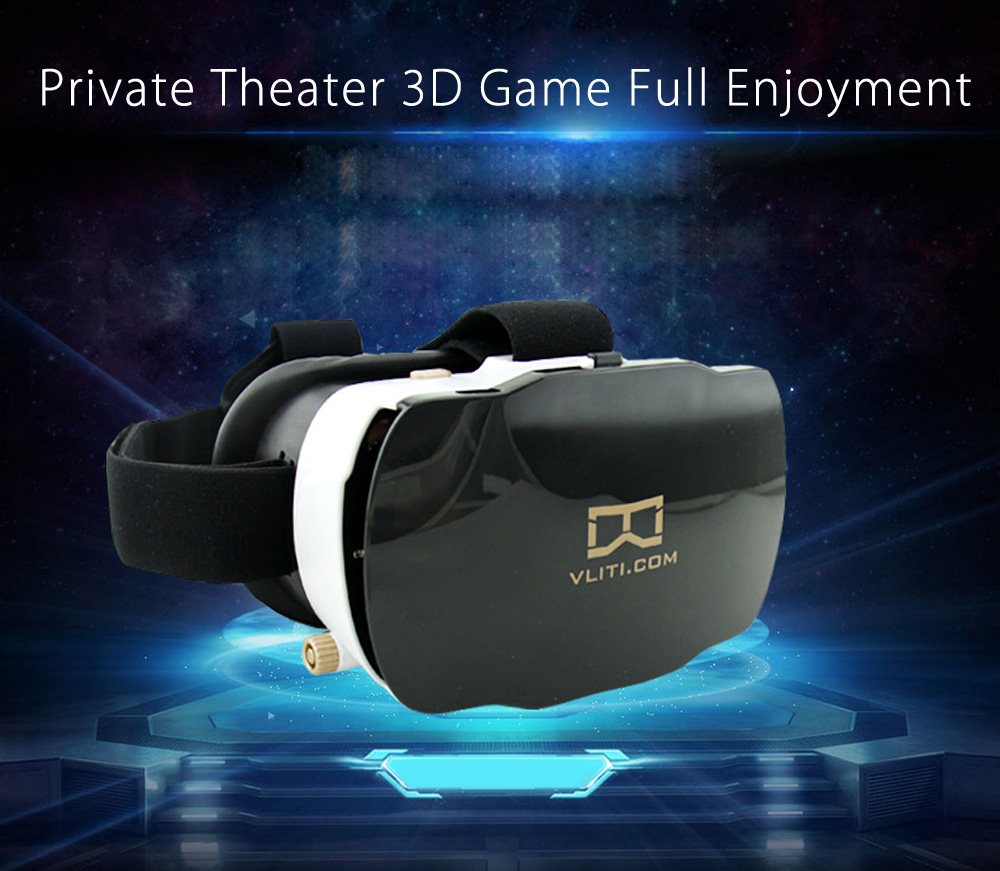Vliti Immersive OP - 001 Virtual Reality 3D VR Glasses Headset for 4.7 - 5.8 Inch Smartphone