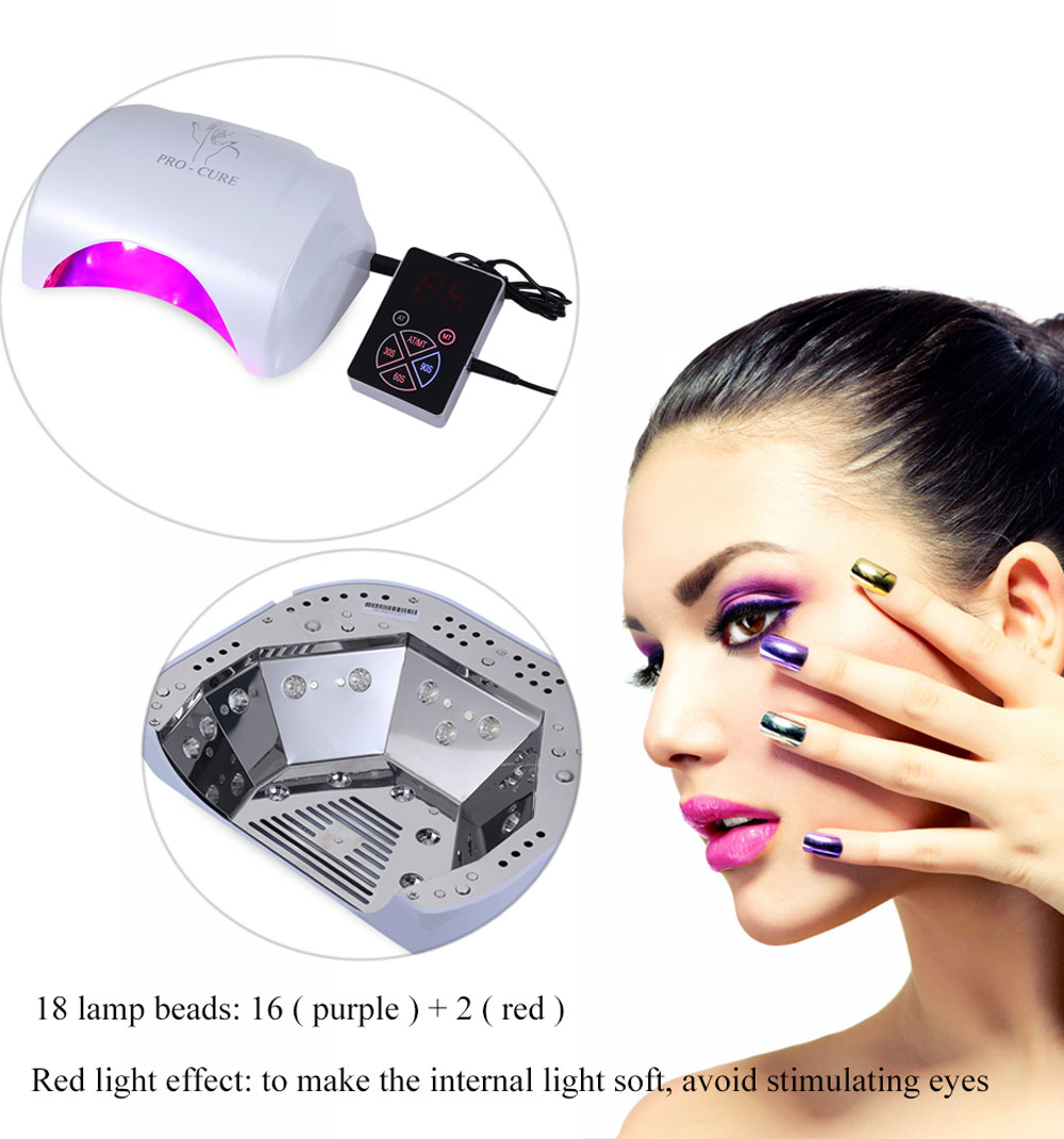 GY - LED - 032 18W / 36W / 48W Switchable Automatic LED Nail Lamp