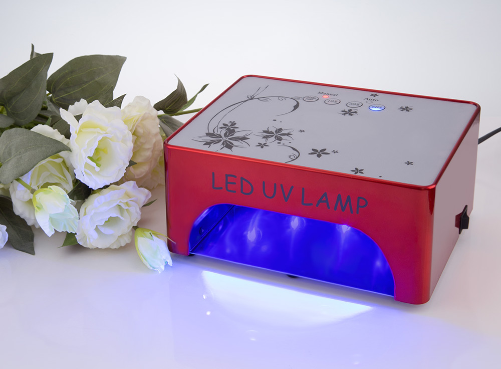 GY - LED - 016 35W Professional Powerful Automatic UV Nail Lamp
