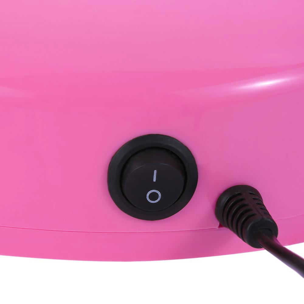 3W Heart Shaped LED / UV Light Therapy Lamp Gel Nail Dryer