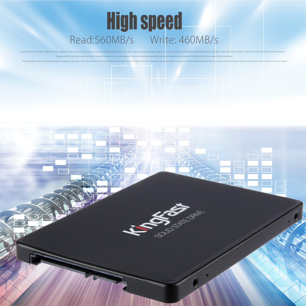 KingFast F6 PRO 120 / 240 / 480GB Solid State Drive 2.5 Inches SSD for Computer Hardware