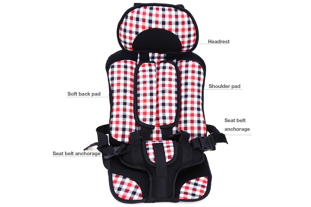 Baby Car Security Seat Adjustable Portable Infant Safety Chair