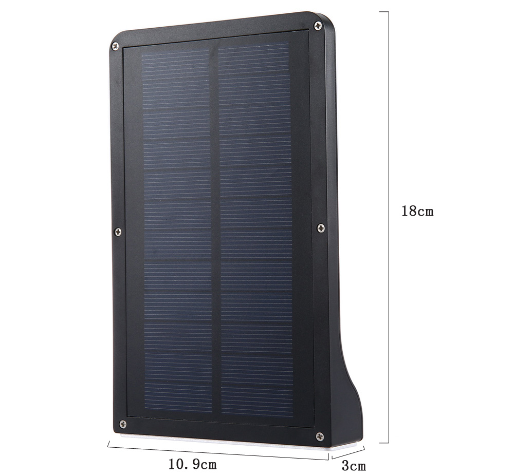 36 LEDs Solar Powered Motion Sensor Light LED Wall Lamp