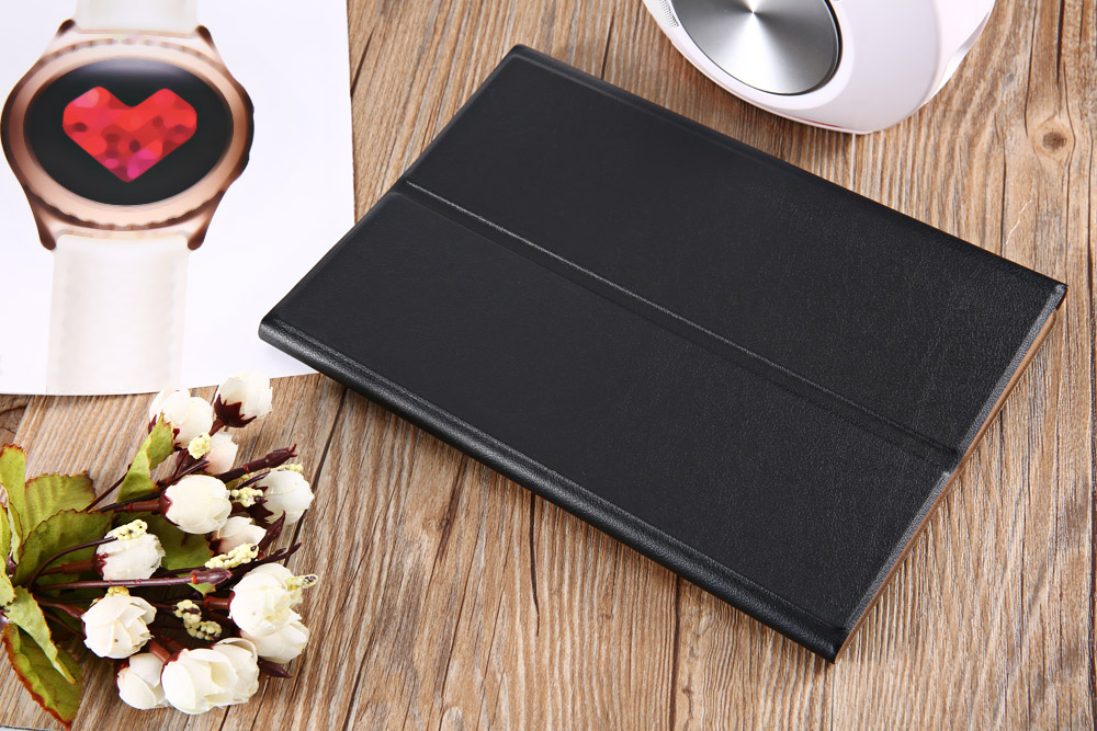 Leather Detachable Wireless Bluetooth Keyboard Cover Screen Film for iPad Pro 9.7 Inch