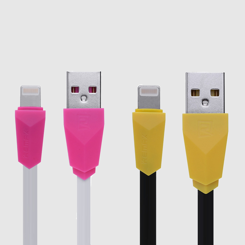 Remax RC - 030i 1M Aliens Series Charging Cable 8 Pin Connection Data Transfer for iPhone / iPad
