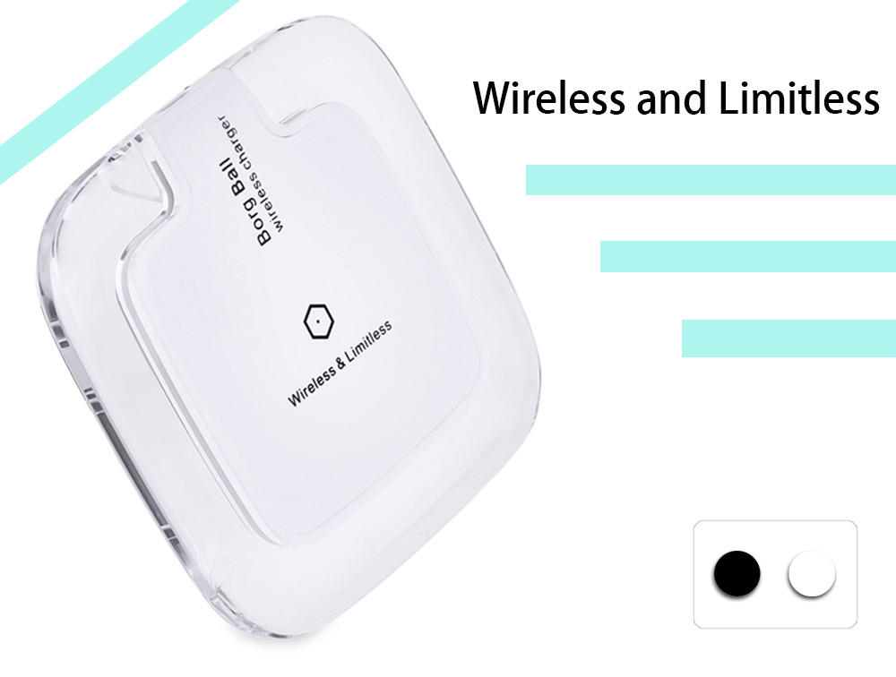 G70 Qi Transparent Crystal Border Wireless Charger