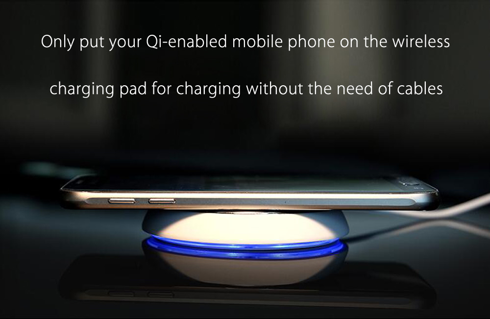 ROCK DT - 610 Round Shape Qi Wireless Charging Station