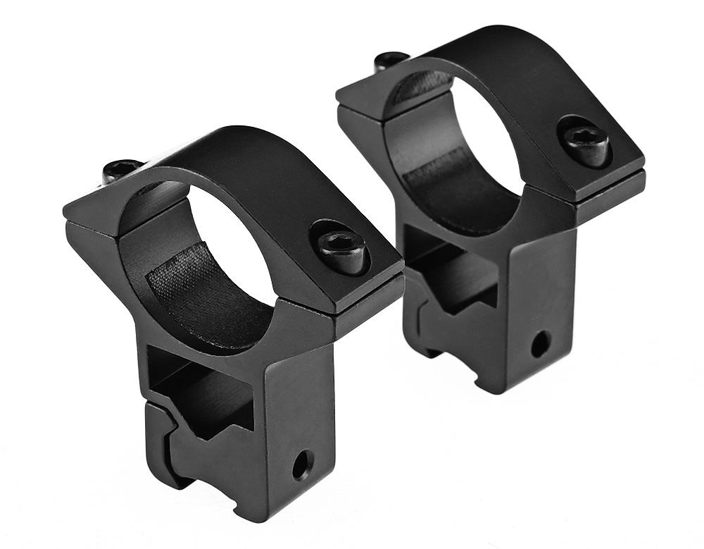 2pcs Quick Release Cantilever Weaver Forward Reach Dual Ring Rifle Scope Mount