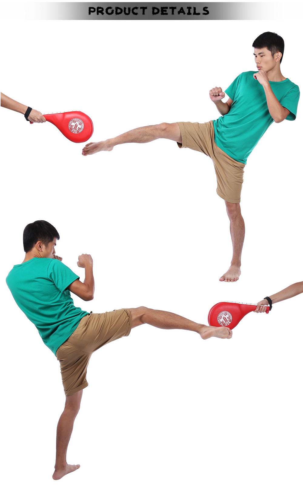 Double Sides Taekwondo Training Boxing Foot Target for Children Under 15