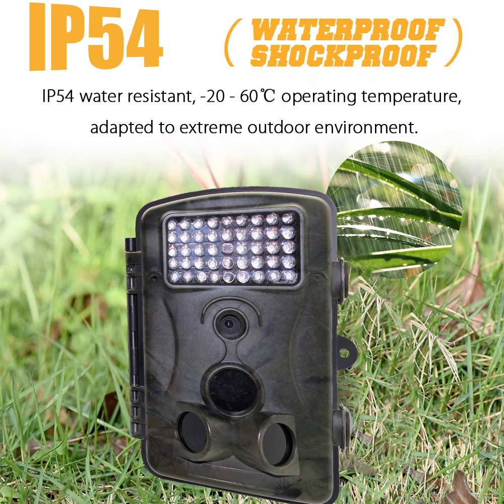 RD1000 42pcs 940nm IR LED 1080P FHD Motion Detection Outdoor Hunting Trail Camera