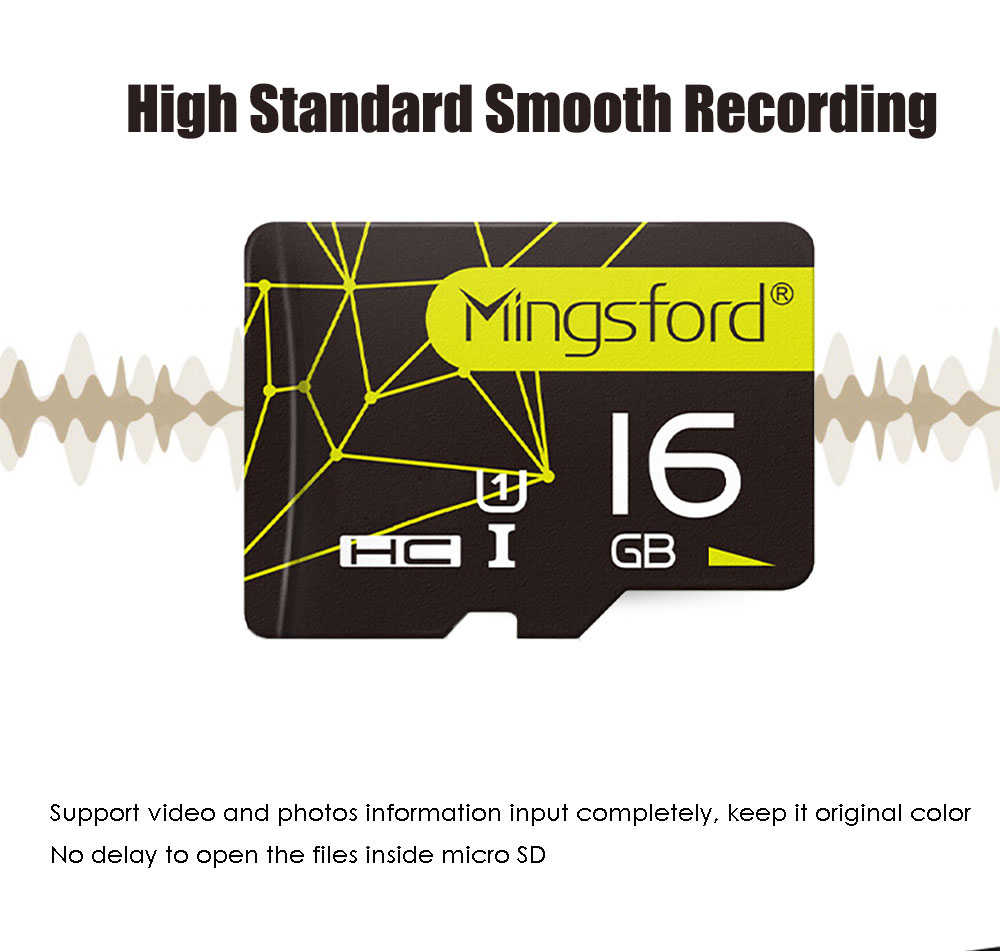 Mingsford USB 3.0 High Speed Transmission Micro SD / TF Memory Card Class 10