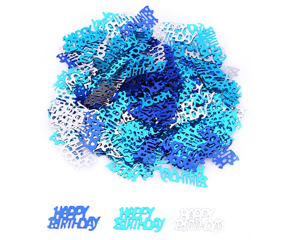 Happy Birthday Party Decoration Confetti Sprinkle for All Ages