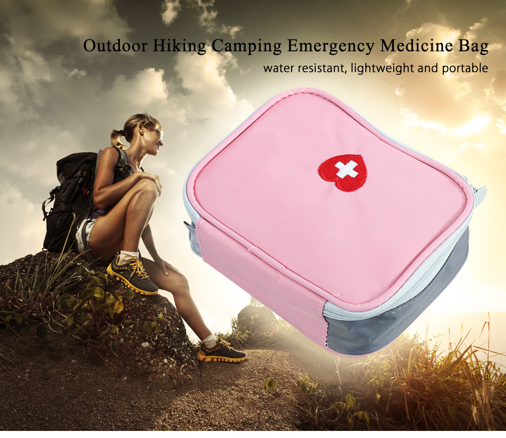 Outdoor Camping Emergency Medicine Bag Survival Wrap Gear Small Travel Hiking Necessary