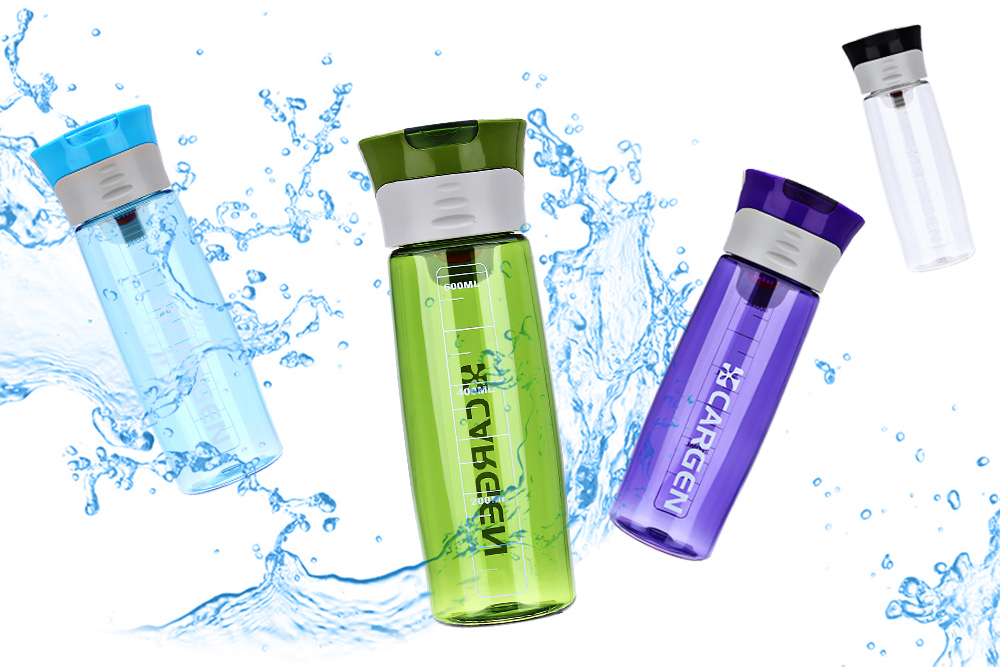 Cargen R71010 600ml Portable Function Sport Bottle for Cycling Hiking Office