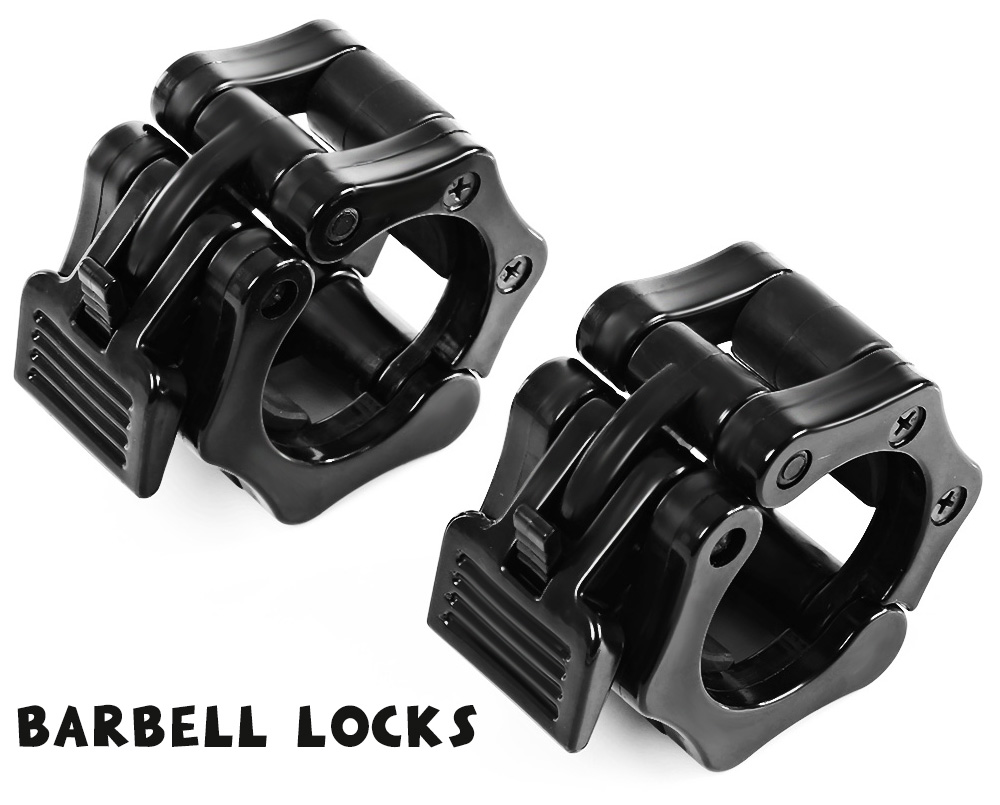 2pcs Professional Barbell Lock Buckle Collars Fitness Equipment