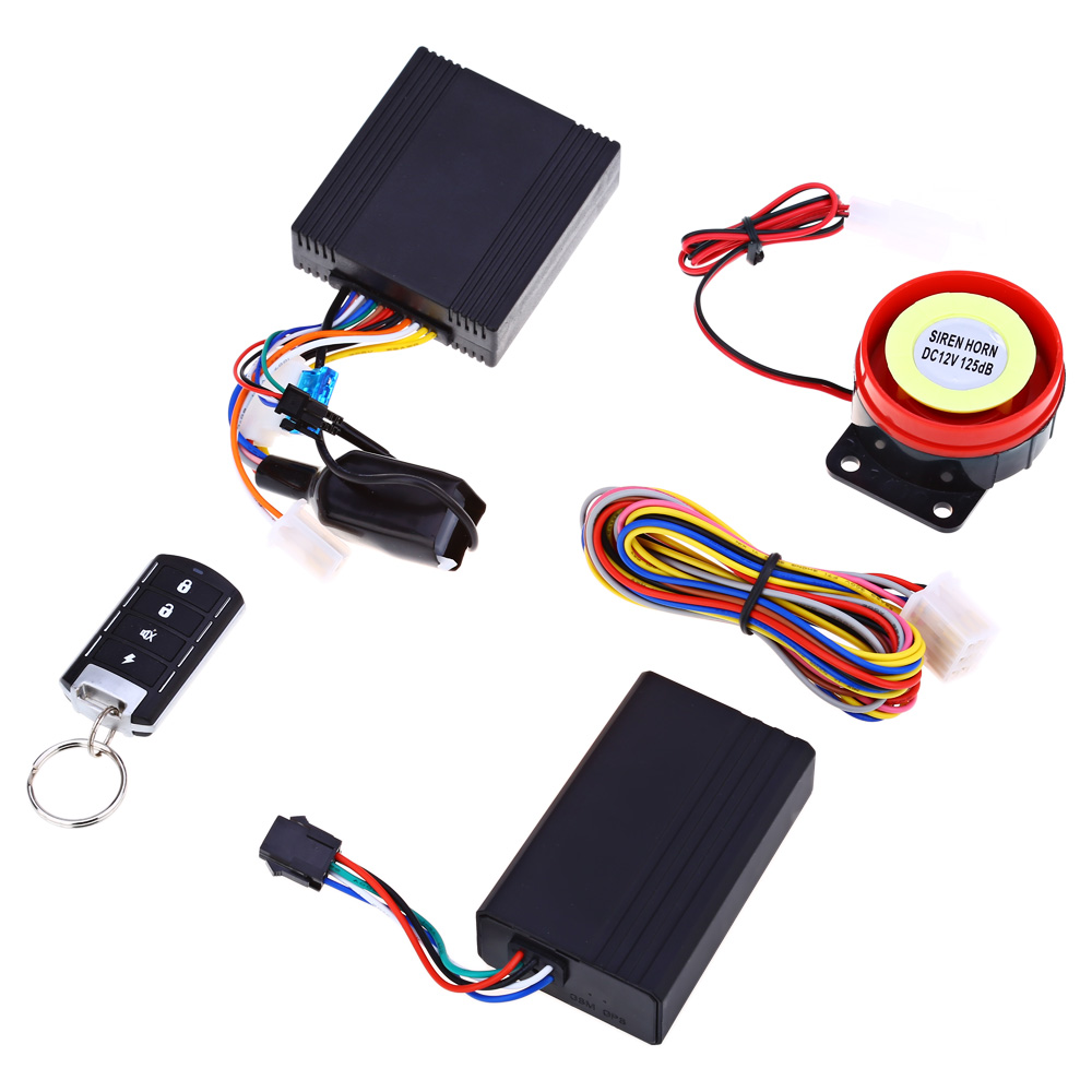 NTG02M GPS Motorcycle Tracking System Anti-theft Water-resistant Remote Control Tracker