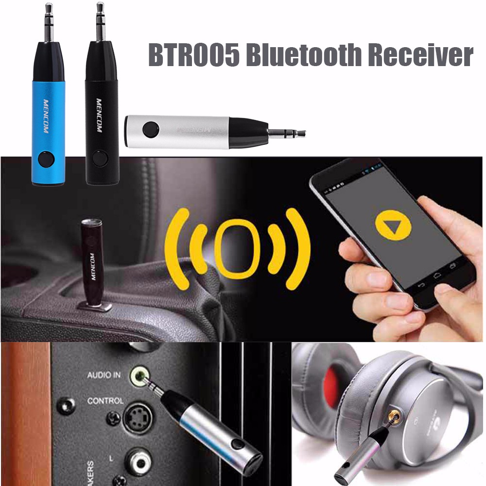BTR005 Bullet Bluetooth 4.1 Receiver Clear Voice Micro USB
