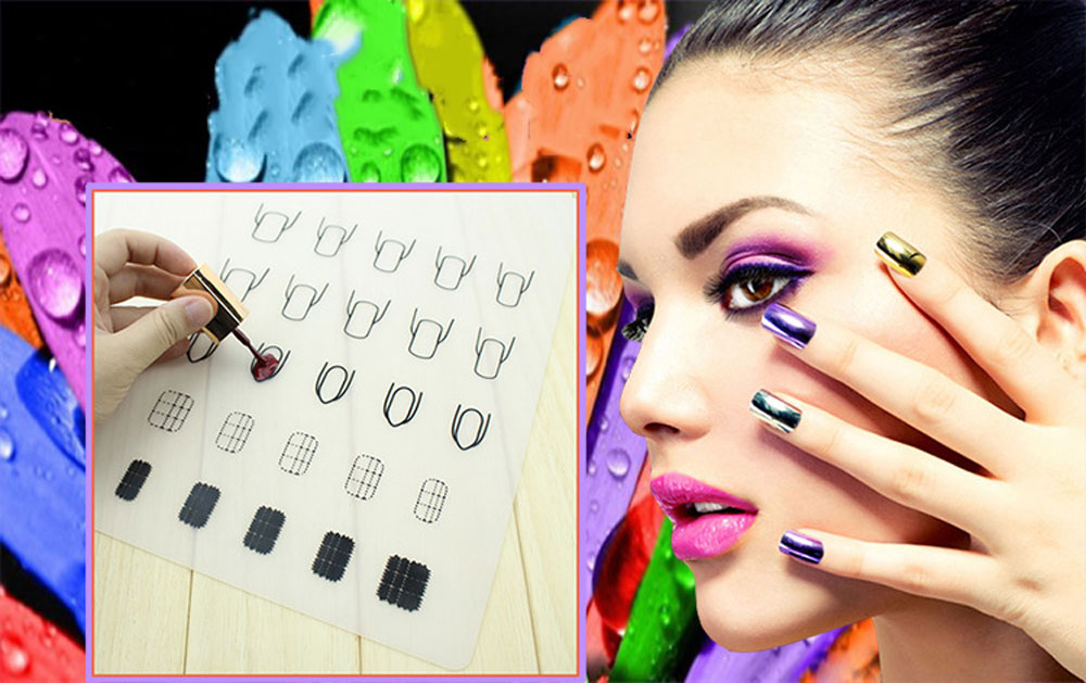 Manicure Printing Fingernail Coloring Pad