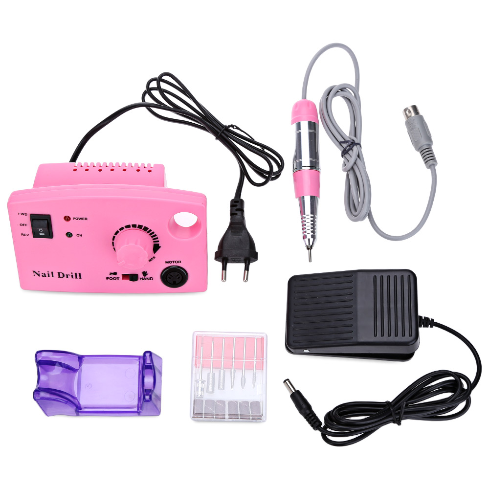 Nail Art Tools Grinding Manicure False Electric Mill Machine