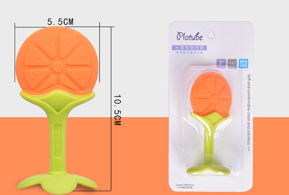 Safety Food Grade Material Babies Silicone Teethers