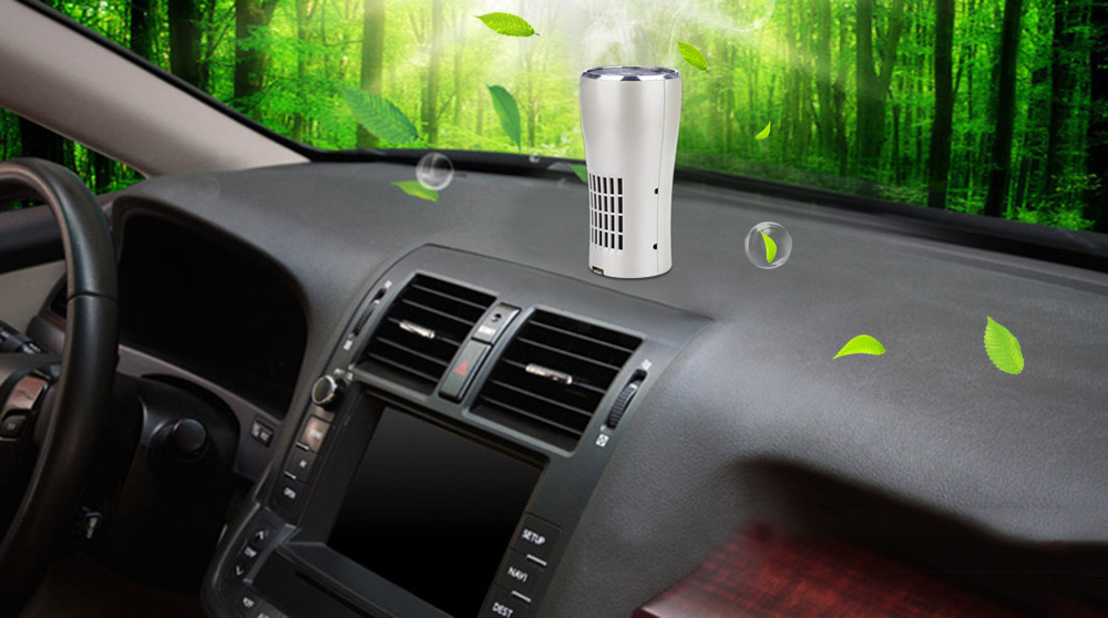 SK - 118 Vehicle Air Cleaner Formaldehyde Purifier Environmental Protection Household Wares