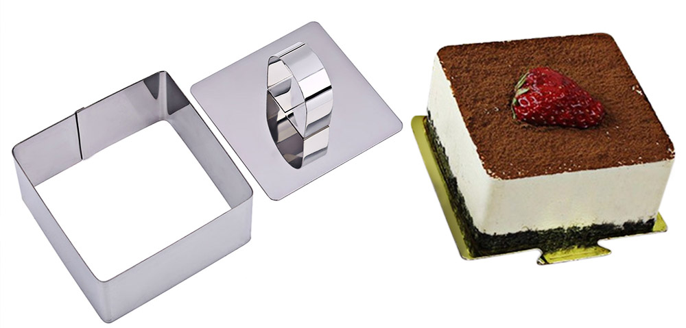 Stainless Steel Cupcake Salad Dessert Mousse Cheese Cake Mold Mould Ring