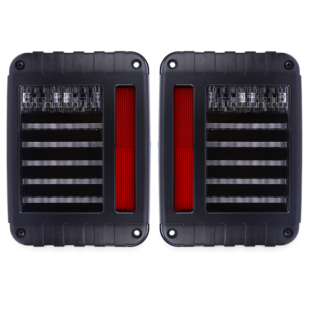 Paired OL - JT03 LED Automobile Tail Light Plastic for Jeep