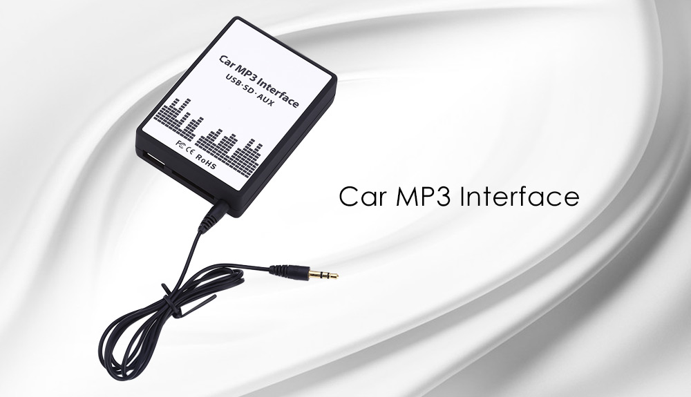Car MP3 Interface USB / SD Adapter Connect Audio Digital CD Changer for Ford