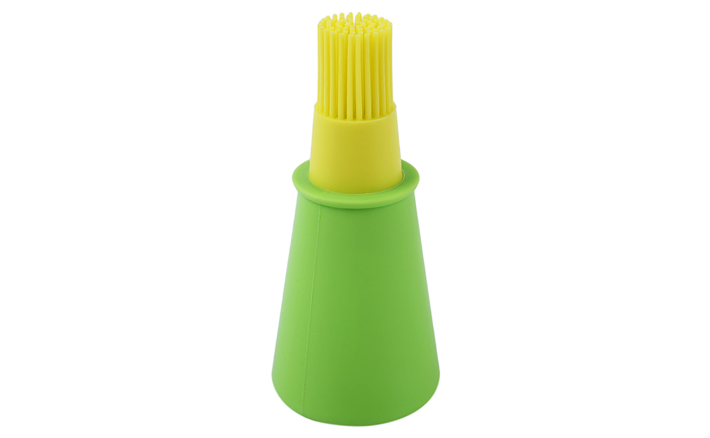 Barbecue Grill Silicone Oil Bottle Brush Kitchen Utensil
