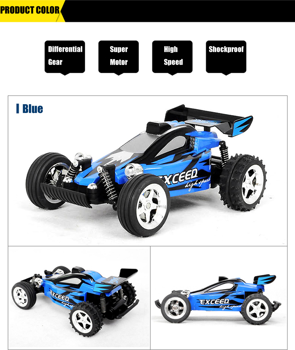 HUANQI 545 4CH 2WD High Speed 11.5KM/H RC Crossing Car RTR