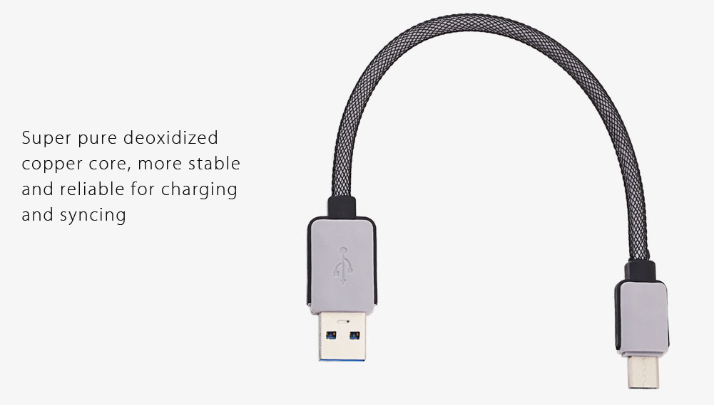 0.2M Type-C to USB Charge and Data Transfer Cable
