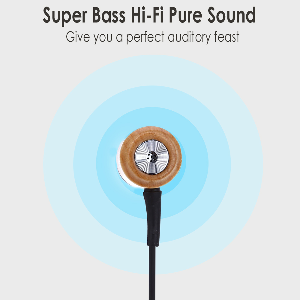IEPW020 Super Bass Hi-Fi Pure Music Audio Stereo In-ear Earphone