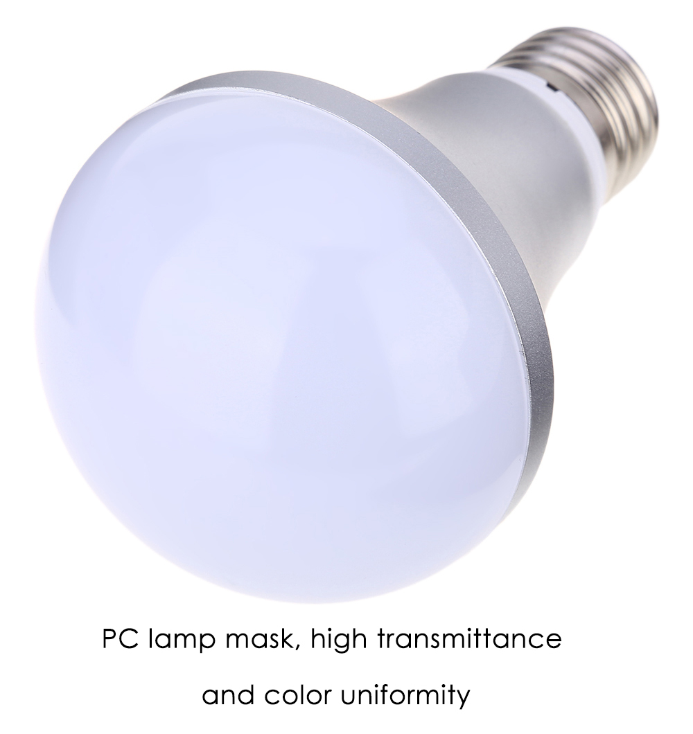 E27 110 - 220V 10W 1000LM LED Bulb 16 Colors Changing Dimmable RGB Light with Remote Control