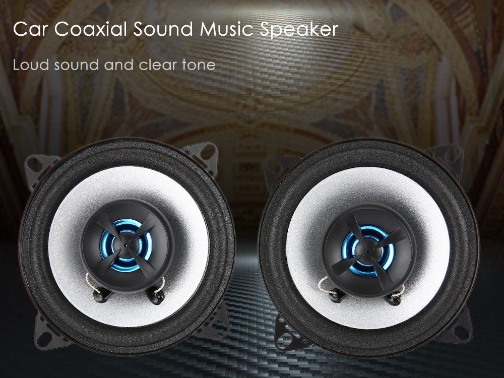 LABO LB - PS1402T Paired 4 Inch Car Coaxial Sound Music Speaker