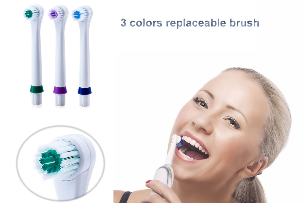 Precision Clean Replacement Electric Toothbrush Heads