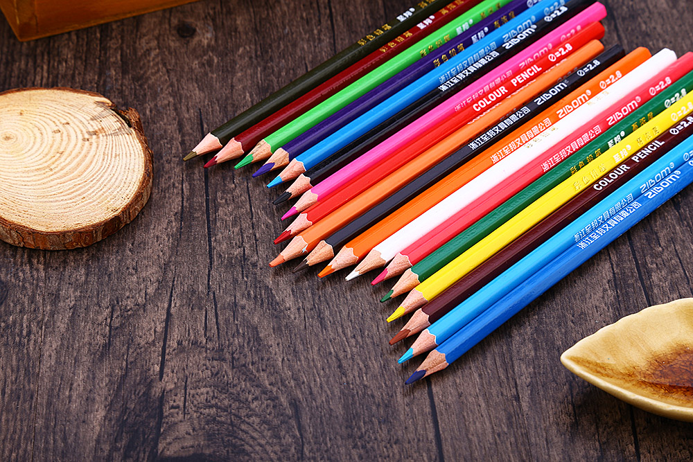 Zibom 36 Colored Pencil Kit Drawing Pen for Artist Sketch