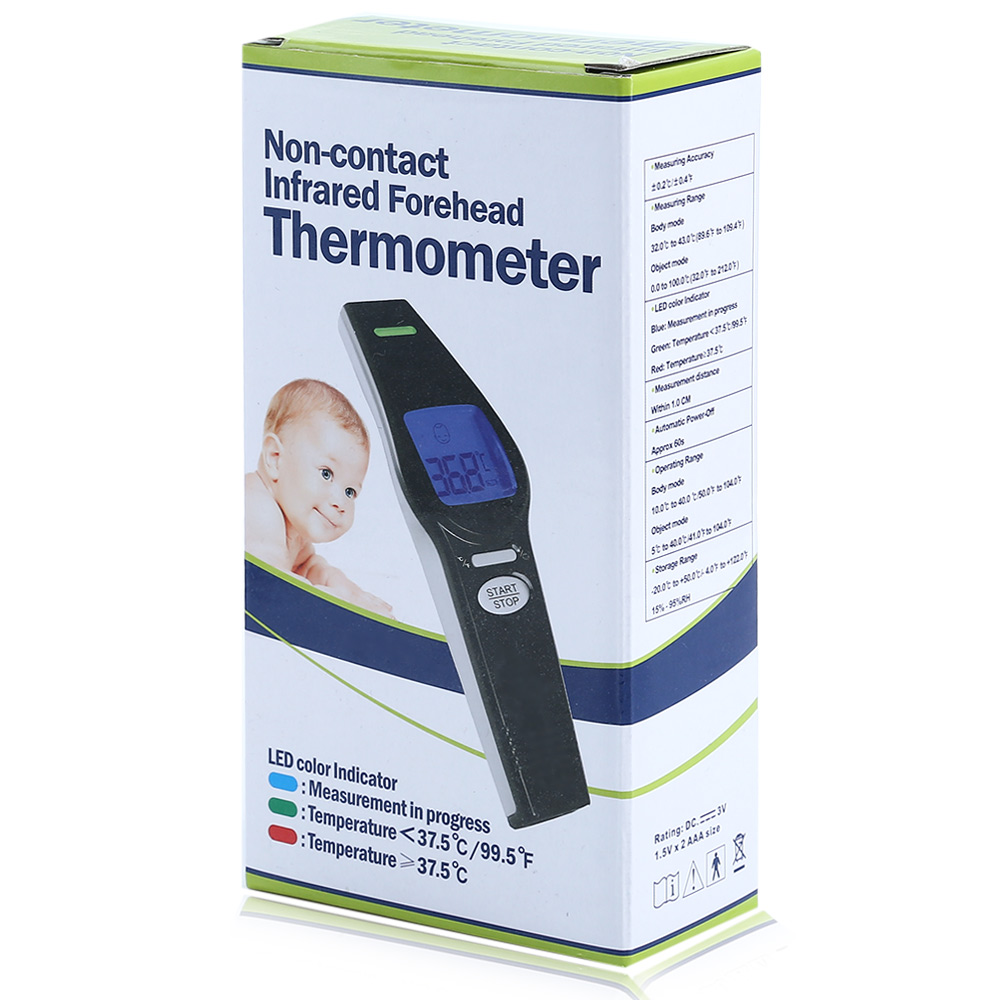 Portable Baby Non-contact Infrared Forehead Thermometer