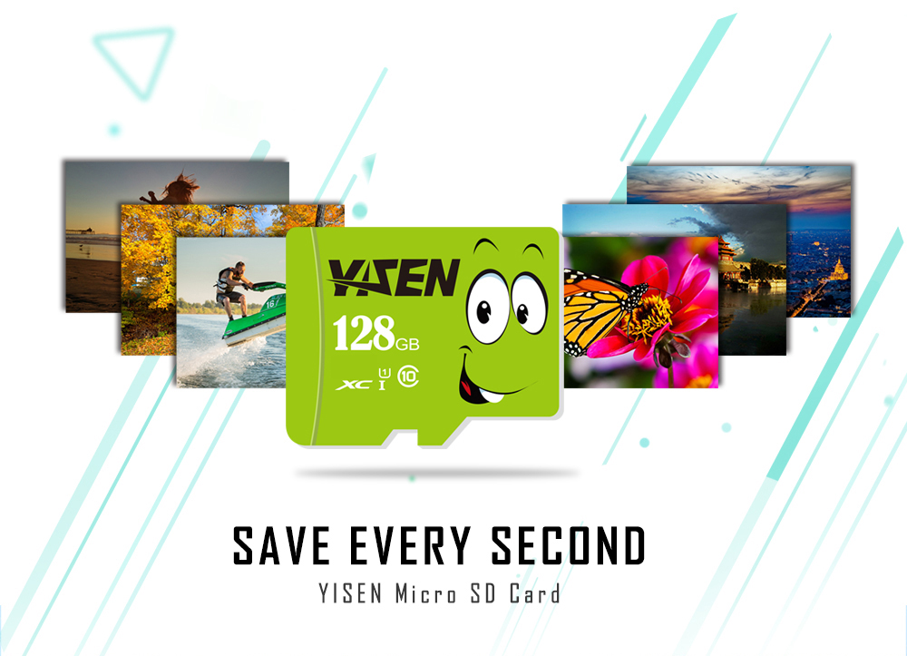 YISEN TF Card High Performance Micro SD Memory Storage Device