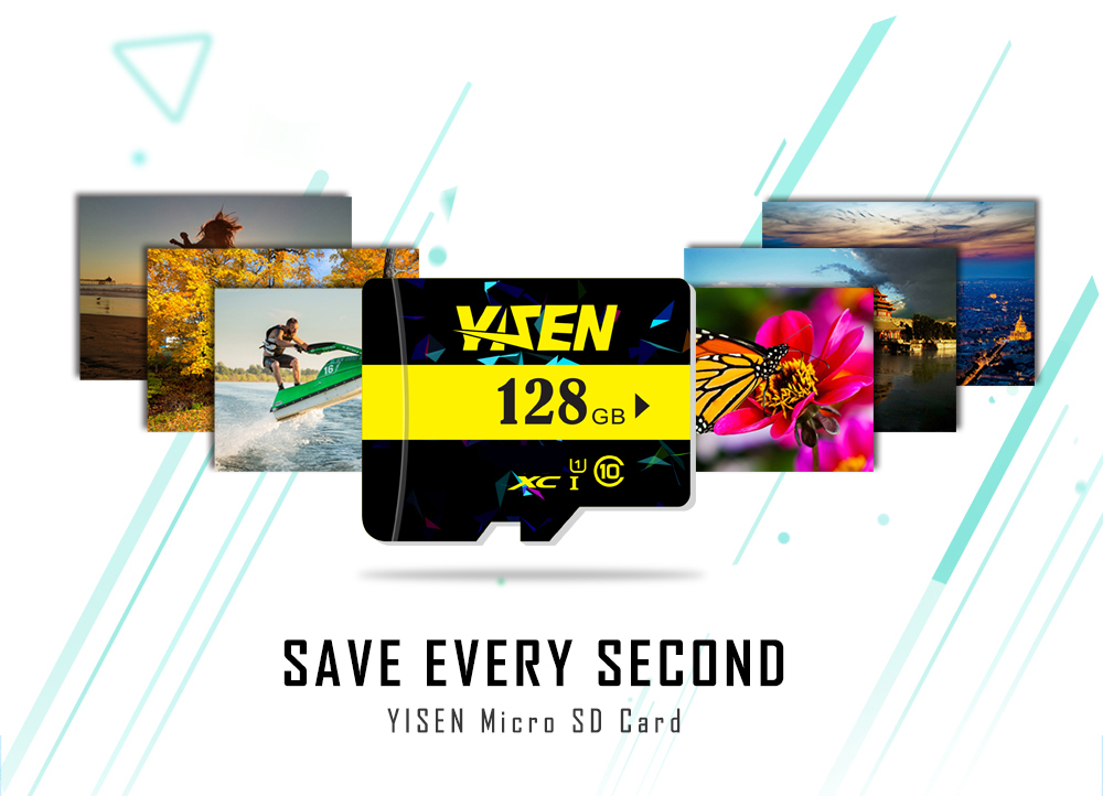 YISEN High Speed Memory Card TF Micro SD Storage Device