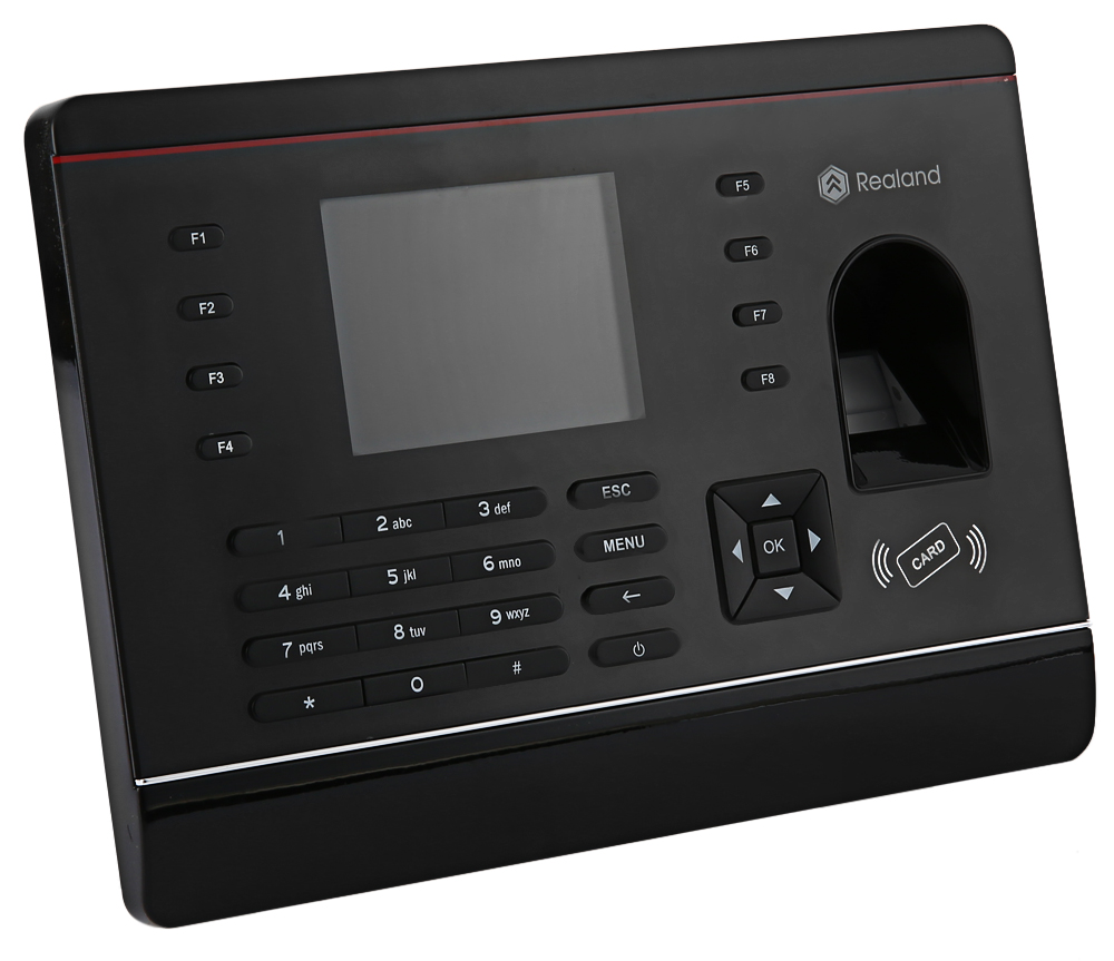 Realand A - C061 2.8 inch TFT Biometric Fingerprint Time Attendance Checking Recorder