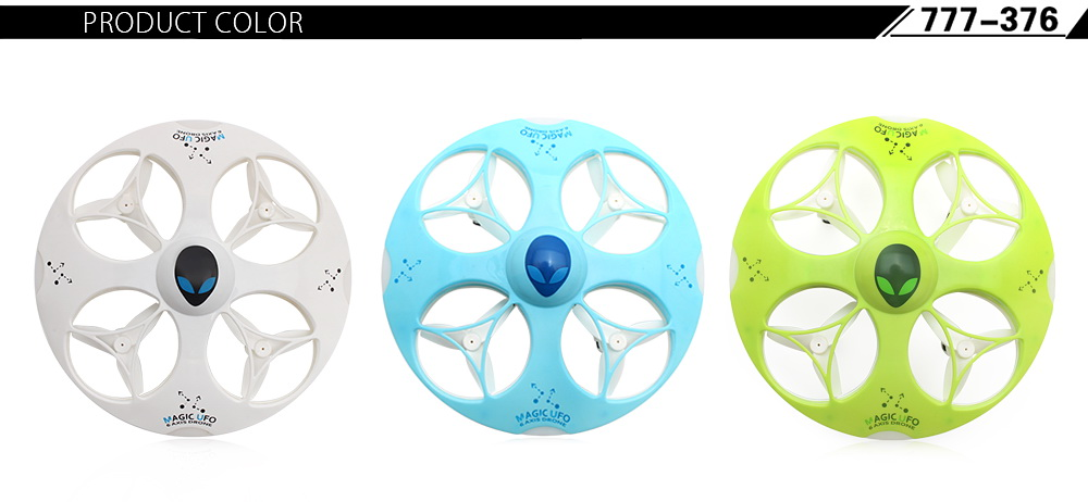 HAPPYCOW 777 - 376 Mini 2.4GHz 4CH 6 Axis Gyro Remote Control UFO Quadcopter