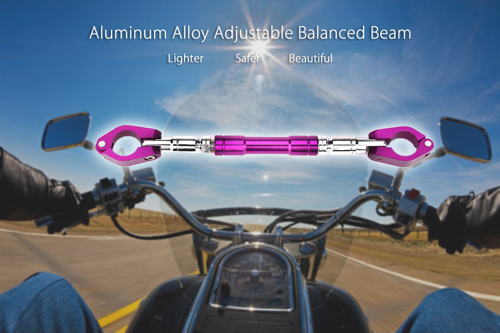 Motorcycle Handlebar Adjustable Balanced Beam Aluminum Alloy Cross-bar