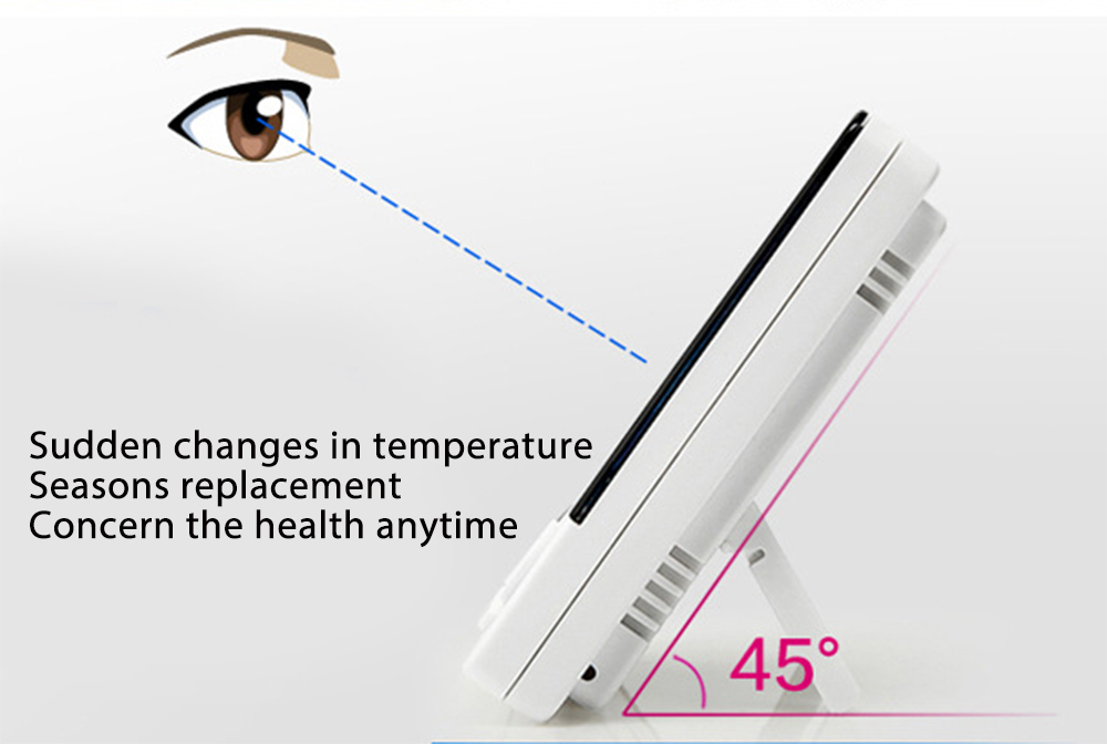 Digital Lcd Electronic Thermometer Hygrometer With Sensor